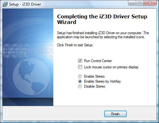 finalizing-iz3d-driver-installation