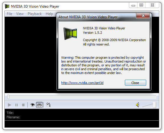 December 18th 2009 7 comments geforce 3d vision