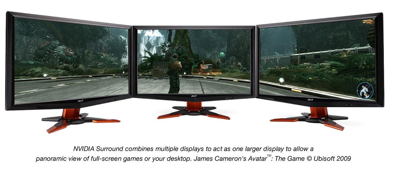 3d vision surround avatar