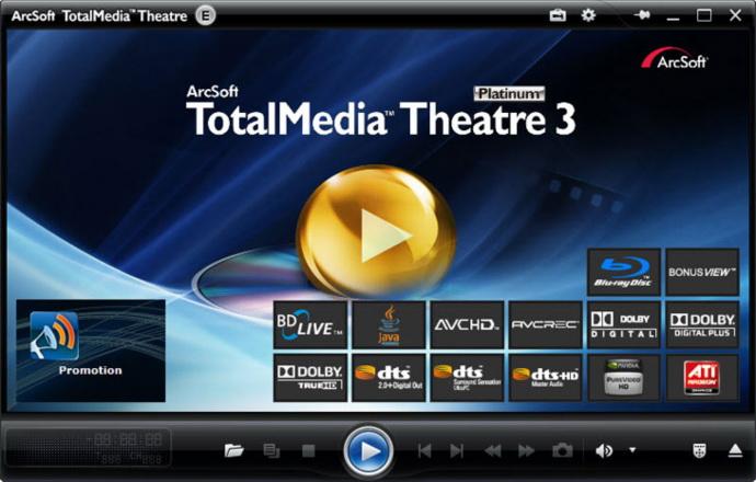 arcsoft totalmedia theatre 3 platinum free download