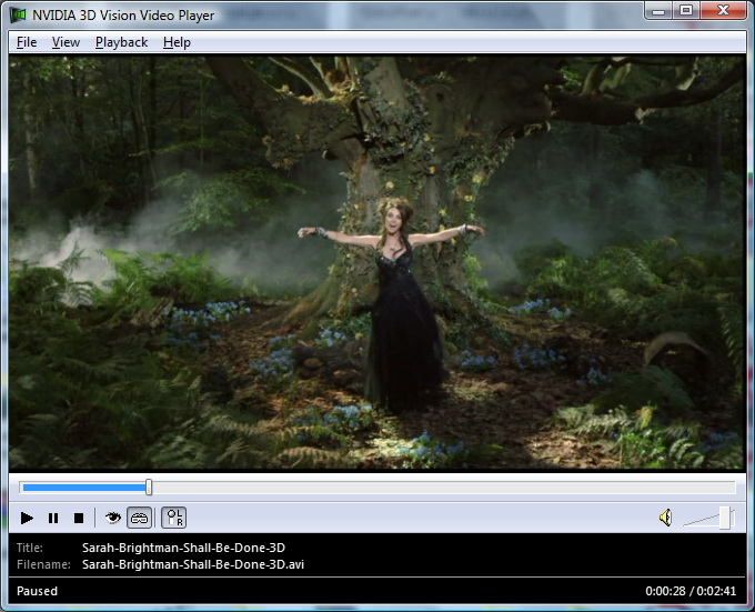 Sarah Brightman – Shall Be Done Music Video in Stereo 3D - 3D Vision Blog