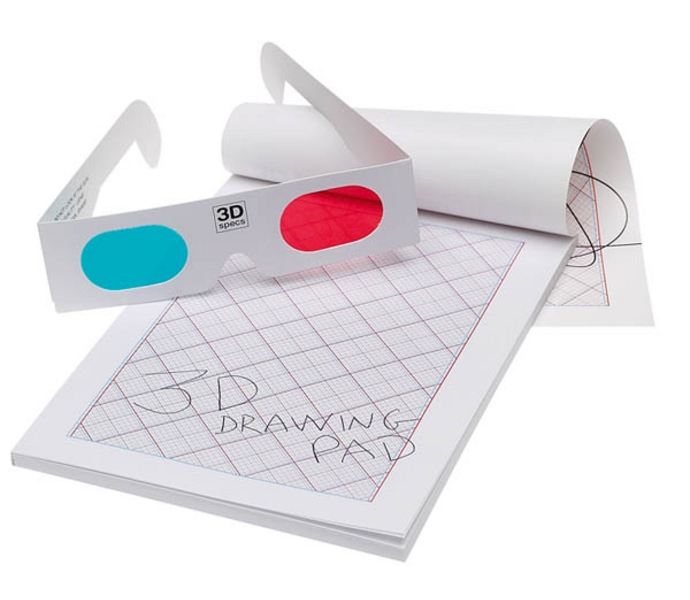 D Drawing Pad And Glasses