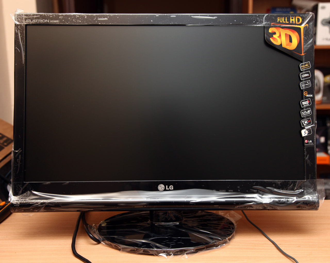 Review of the 23 lg w2363d 120hz full hd 3d gaming monitor