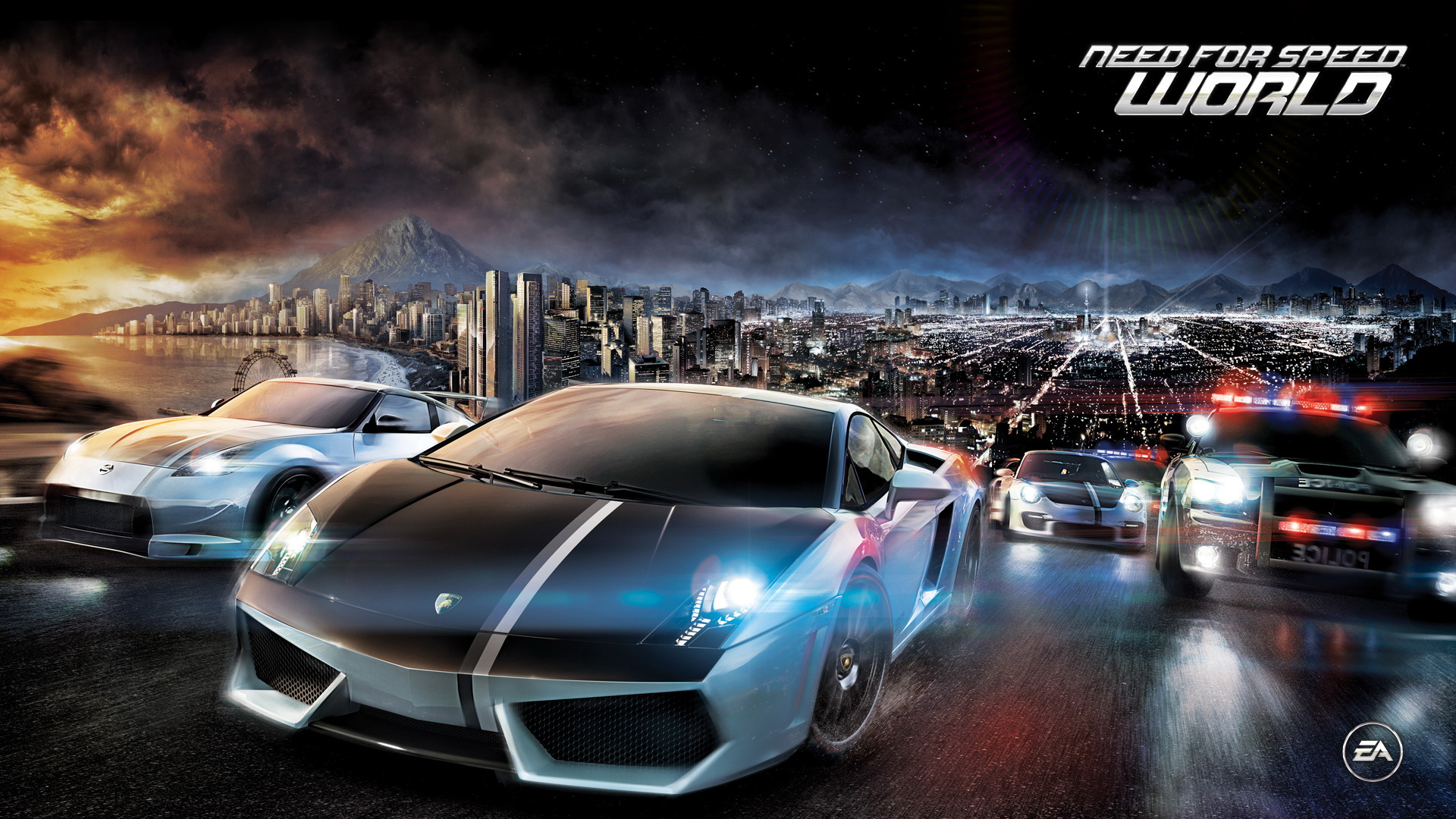 need for speed world online play