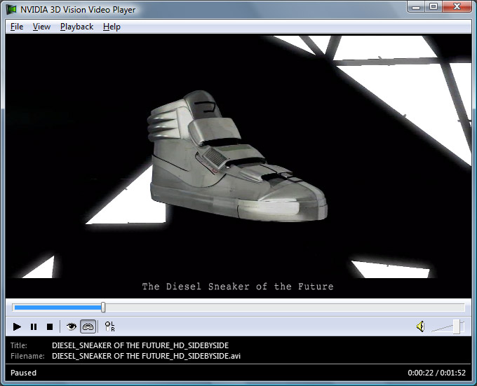 "The first of those spots, the ""Sneaker of the Future"", directed by Sebastian ..."