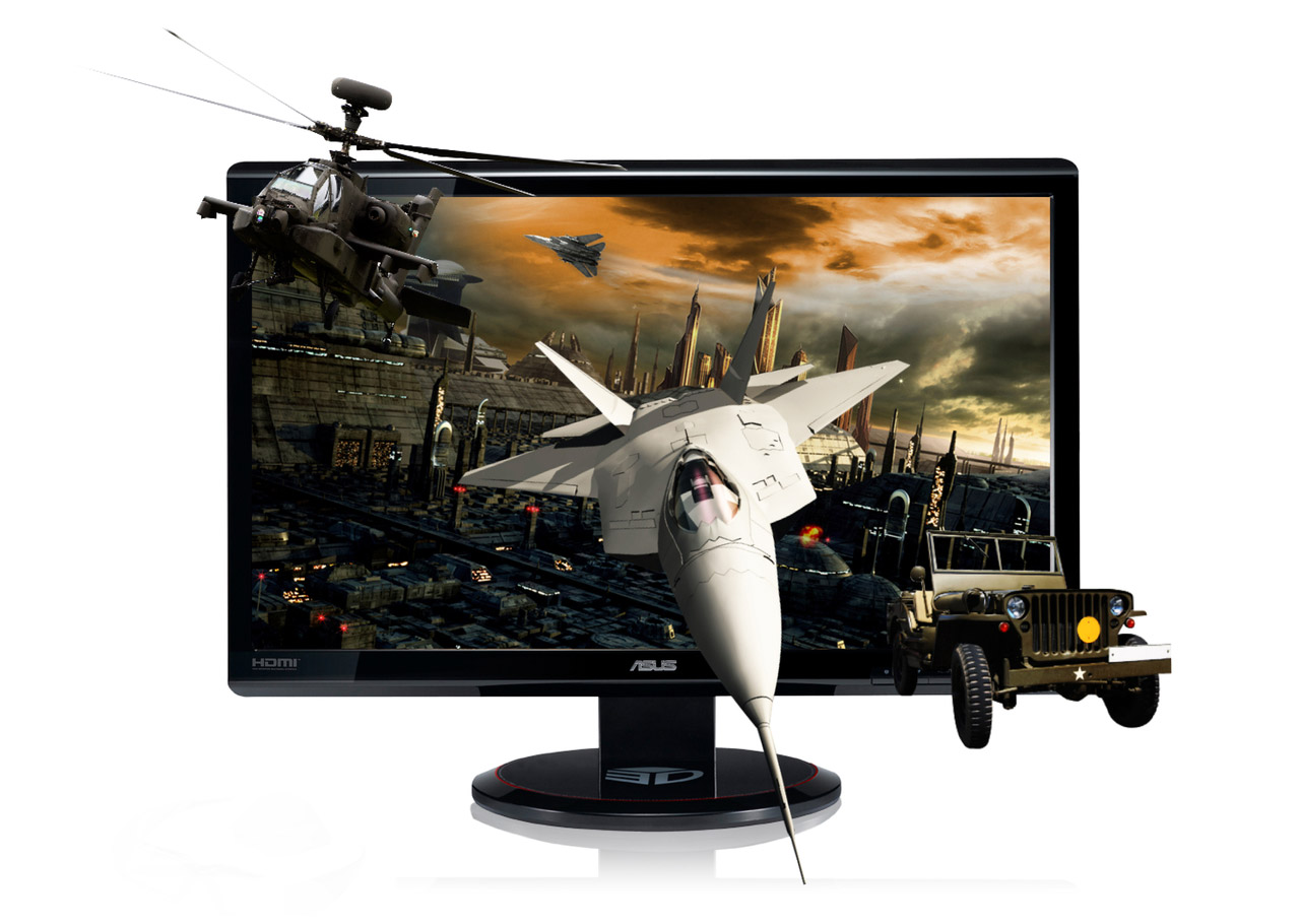 Testing the asus vg236he 120hz 3d monitor it has some input lag