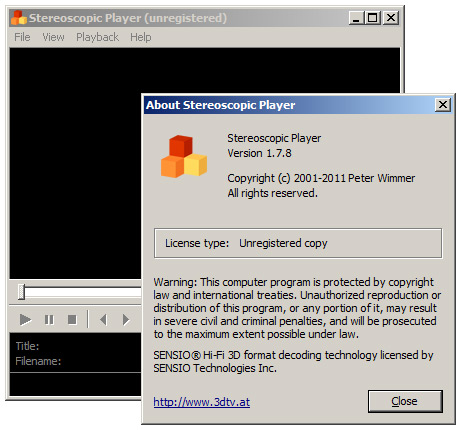 New Stereoscopic Player Version 1 7 8 is Now Available for Download