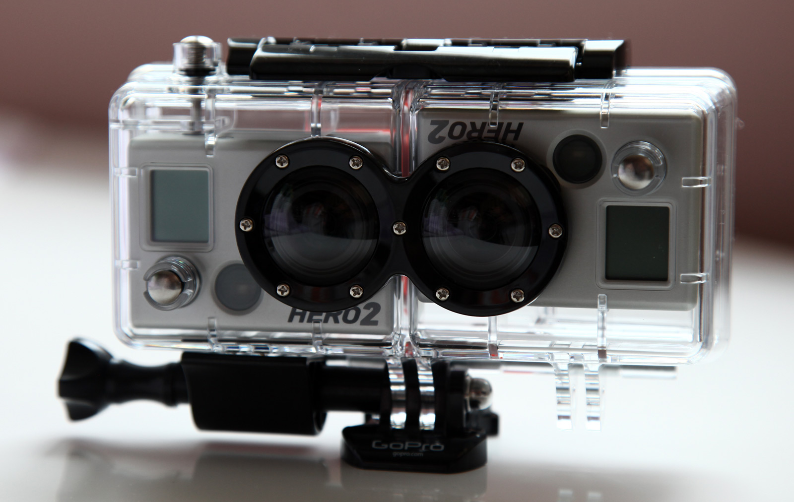 i have my gopro d hero plus two hd cameras setup