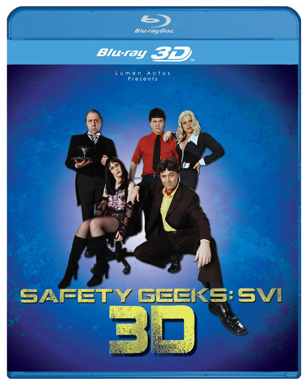 Watch The Safety Geeks: SVI 3D Comedy Show On Blu-ray 3D
