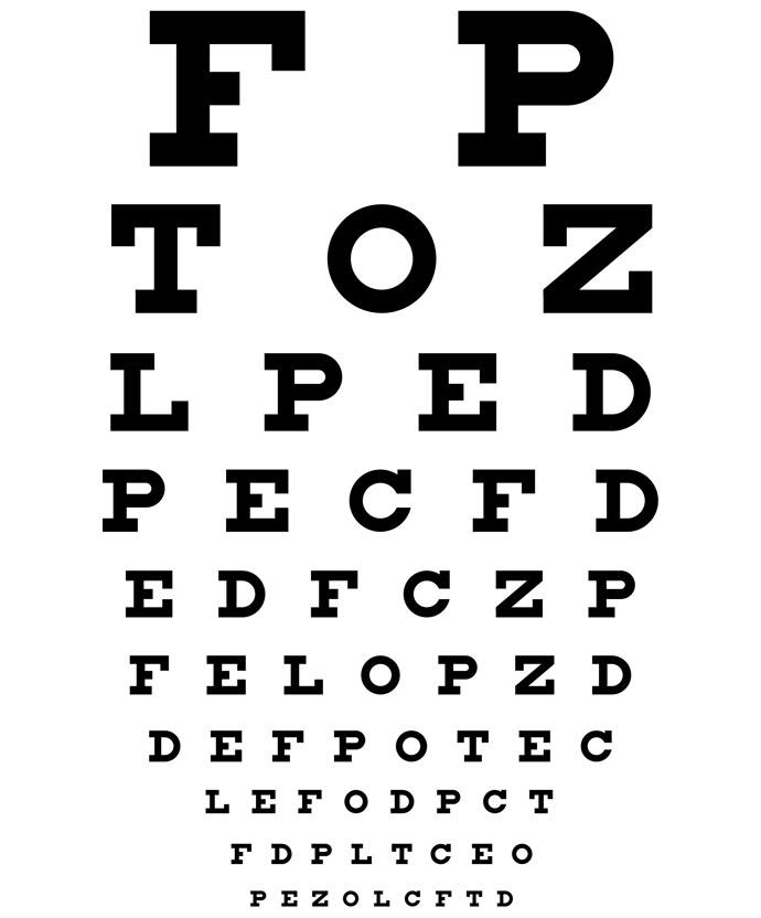 Printable Eyesight Chart Keninamas