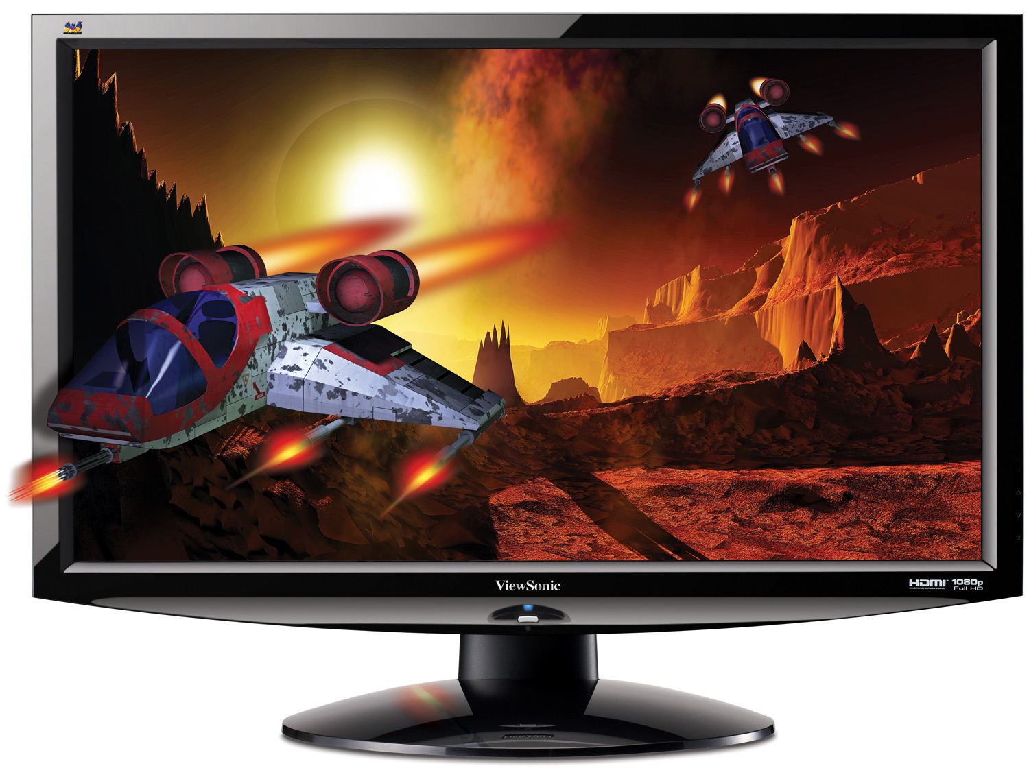 Review of the viewsonic v3d241wm led 3d capable monitor
