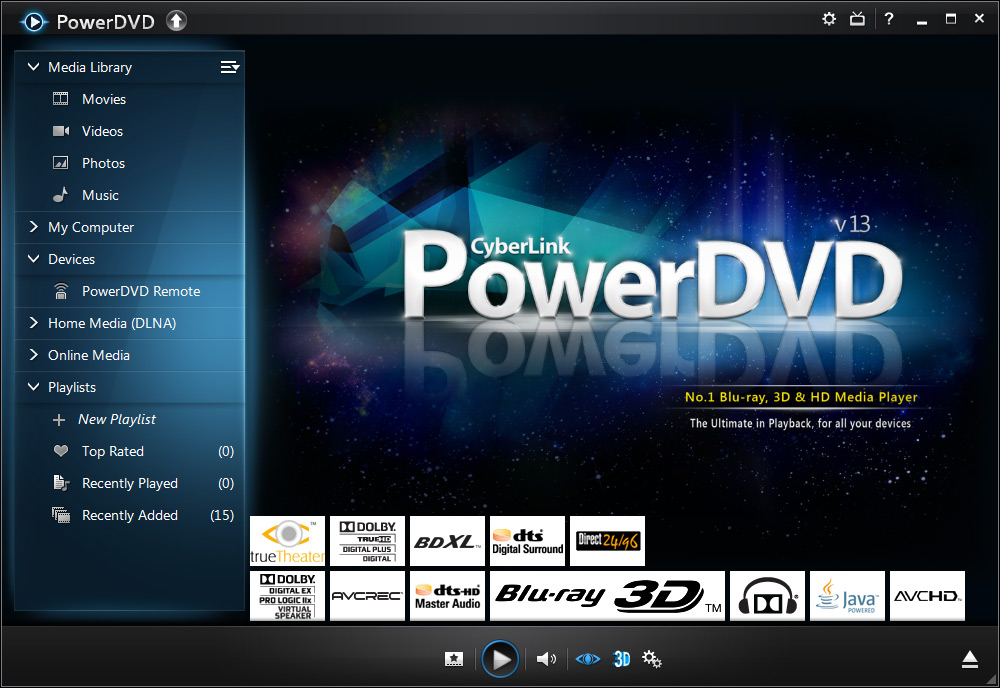 Power dvd 13 ultra full