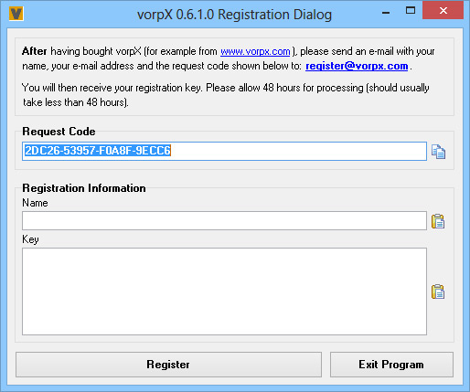 vorpx-registration-dialog