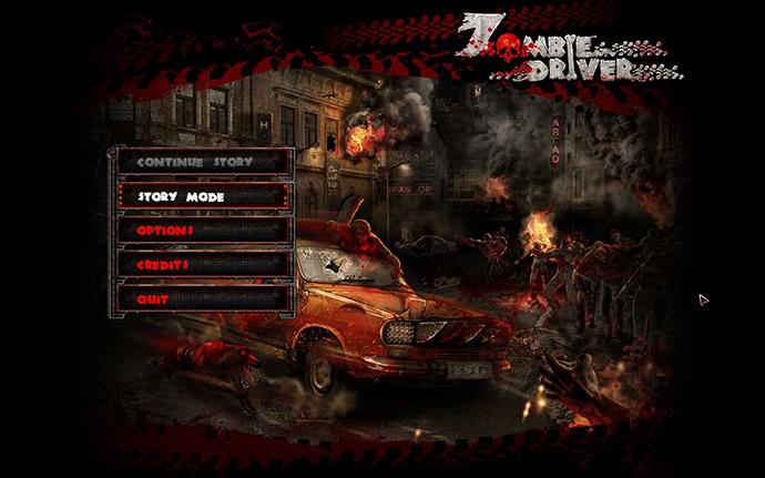 zombie-driver-main-menu