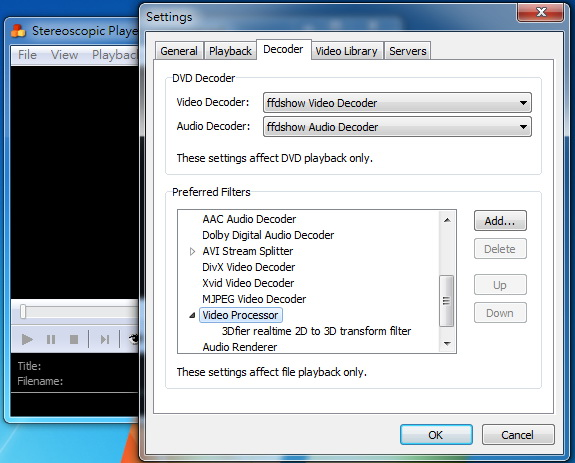 directshow player