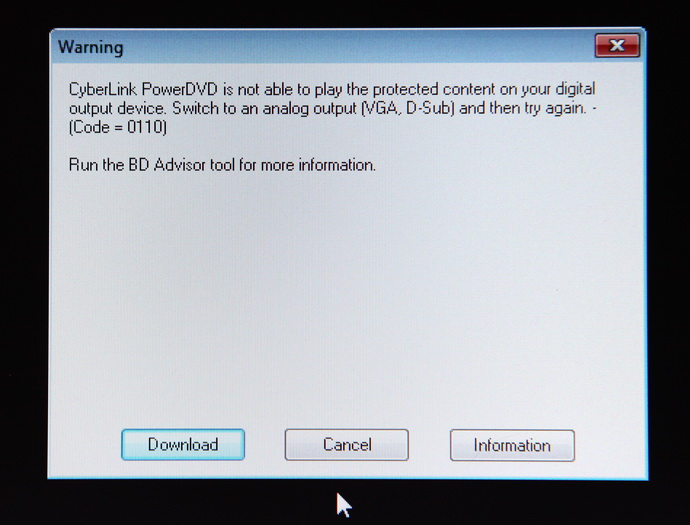 More About The Blu Ray 3d Movie Playback And The Hdcp Issues 3d Vision Blog