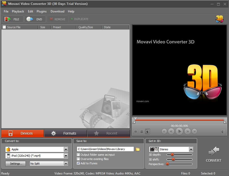 convert 2d to 3d software free download