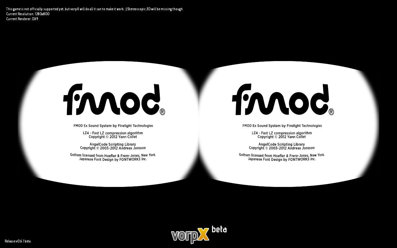 vorpX - 3D Vision Blog